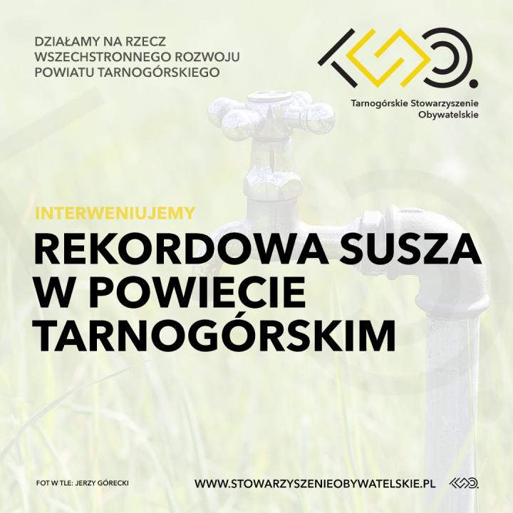 Rekordowa susza w powiecie tarnogórskim